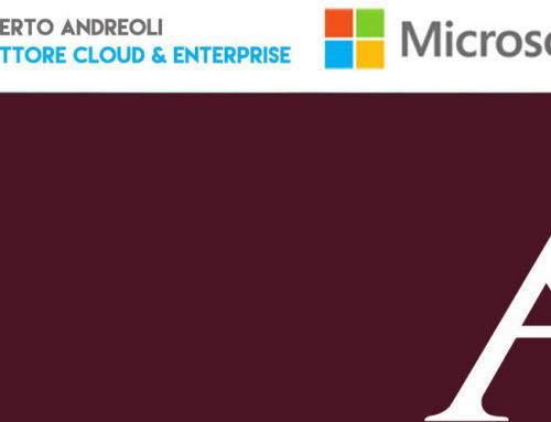 Roberto Andreoli nominato nuovo Direttore Cloud & Enterprise Microsoft