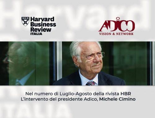 L'intervento del presidente Adico Michele Cimino per HBR
