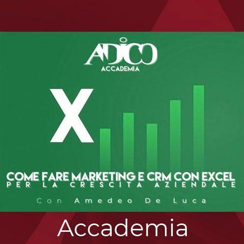 Marketing con Excel ADICO
