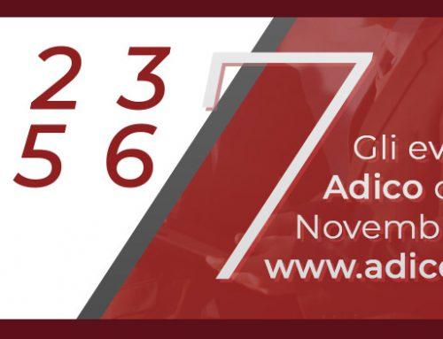 Programma attività ADICO mese di Novembre