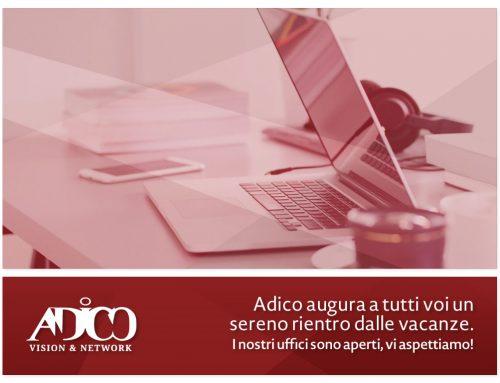 Riapertura uffici Adico