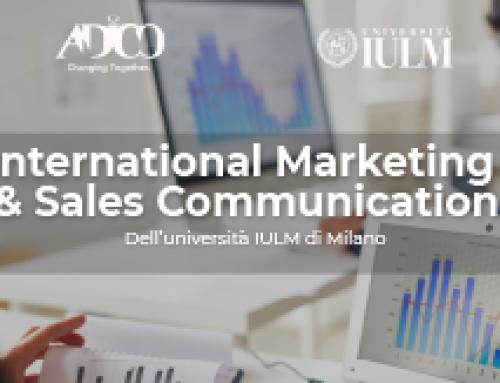"""""""International Marketing & Sales Communication"""" dell'Università IULM di Milano"""